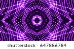purple stage lights | Shutterstock . vector #647886784