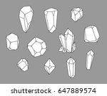 crystal set  polihedrons....
