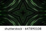 abstract green lines   Shutterstock . vector #647890108