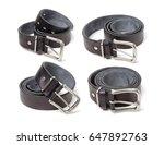belts on a background. belts.... | Shutterstock . vector #647892763