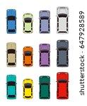 car illustration | Shutterstock . vector #647928589