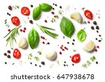 various herbs and spices... | Shutterstock . vector #647938678