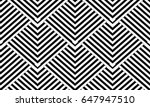modern geometric striped... | Shutterstock .eps vector #647947510