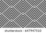 modern geometric striped... | Shutterstock .eps vector #647947510