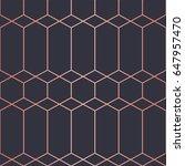 simple geometric pattern.... | Shutterstock .eps vector #647957470
