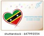 heart logo made from the flag...   Shutterstock .eps vector #647993554