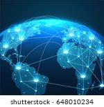 internet concept of global...   Shutterstock .eps vector #648010234
