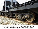 industrial rail car wheels... | Shutterstock . vector #648013768