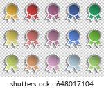 badge winner ribbon award...   Shutterstock .eps vector #648017104