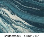 blue and white marble stone... | Shutterstock . vector #648043414