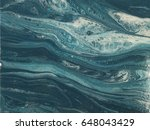 blue and white marble stone... | Shutterstock . vector #648043429