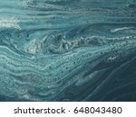 blue and white marble stone... | Shutterstock . vector #648043480