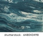 blue and white marble stone... | Shutterstock . vector #648043498