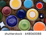 A Variety Of Color Plates And...