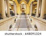 boston  usa   april 21  2017 ... | Shutterstock . vector #648091324