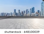 panoramic skyline and buildings ... | Shutterstock . vector #648100039