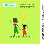 16 june international day of... | Shutterstock .eps vector #648179944