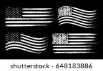 Usa American Grunge Flag Set ...