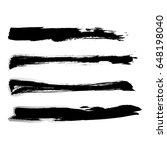 premium lines set grunge... | Shutterstock .eps vector #648198040