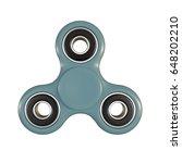 3d illustration of a fidget... | Shutterstock . vector #648202210