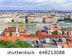 hungary. budapest. view on... | Shutterstock . vector #648213088