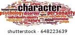 character word cloud concept....   Shutterstock .eps vector #648223639