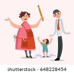 vector illustration of a big... | Shutterstock .eps vector #648228454