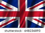 united kingdom flag | Shutterstock . vector #648236893