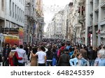 istanbul  turkey   may 19  2017 ... | Shutterstock . vector #648245359