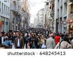 istanbul  turkey   may 19  2017 ... | Shutterstock . vector #648245413