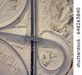 highway interchange  aerial... | Shutterstock . vector #648265840