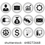 business icons | Shutterstock .eps vector #648272668