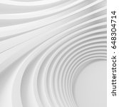white architecture circular... | Shutterstock . vector #648304714