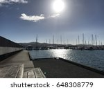 wellington harbor and the sail... | Shutterstock . vector #648308779