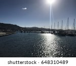 wellington harbor and the sail... | Shutterstock . vector #648310489