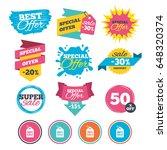 sale banners  online web... | Shutterstock .eps vector #648320374