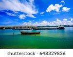 the bridge between phuket and... | Shutterstock . vector #648329836