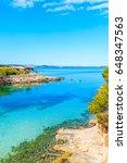 view of beautiful cala gracio... | Shutterstock . vector #648347563