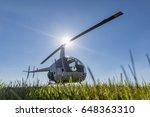 small robinson r22 light...   Shutterstock . vector #648363310