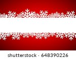 christmas snowflake background... | Shutterstock . vector #648390226