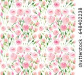 tender delicate cute elegant... | Shutterstock . vector #648402238