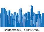 future city illustrations | Shutterstock . vector #648403903
