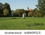 in the city park. bietigheim... | Shutterstock . vector #648409513