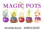 artistic watercolor hand drawn...   Shutterstock . vector #648413650