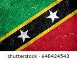 flag of saint kitts and nevis   Shutterstock . vector #648424543