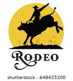 silhouette of a cowboy riding...   Shutterstock .eps vector #648425200