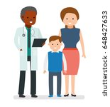 caring for the health of the... | Shutterstock .eps vector #648427633