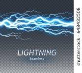 seamless asset of lightening...   Shutterstock .eps vector #648432508