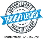 thought leader round grunge... | Shutterstock .eps vector #648452290