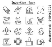 innovation   creative idea... | Shutterstock .eps vector #648463726